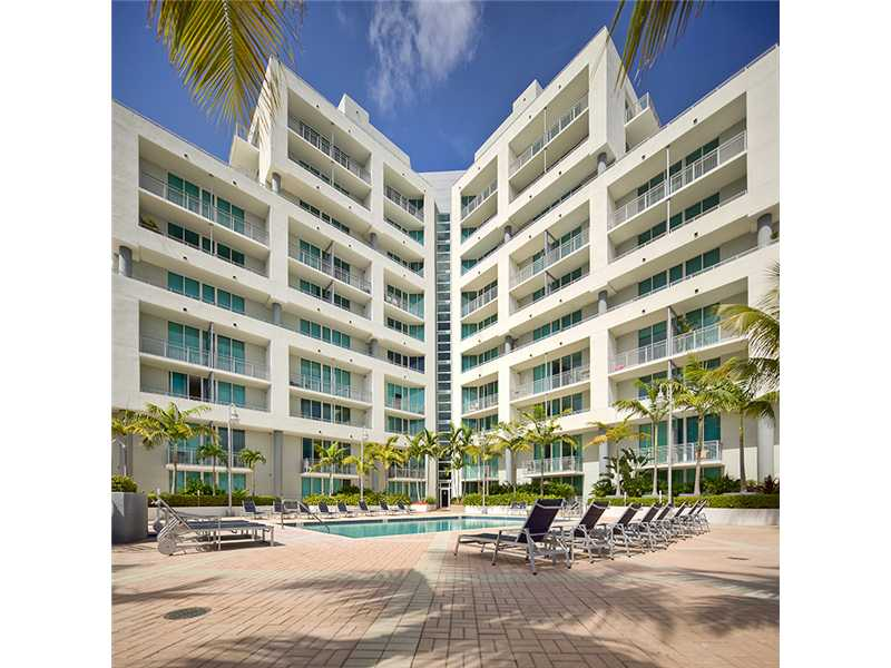 City 24 Condo Midtown Miami pool